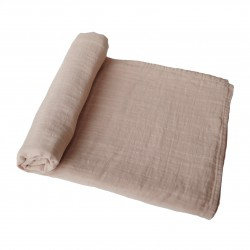 MUSHIE - SWADDLE -  Pale Taupe