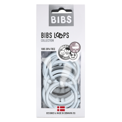 BIBS - LOOPS  (12pcs) Baby...